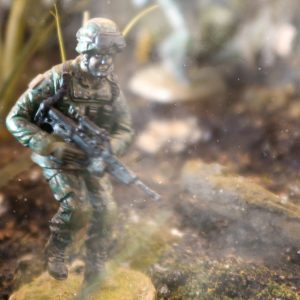 SAF Section Commander 3SG with SAR21 Toy Soldier Collectible Figurine (Cover)