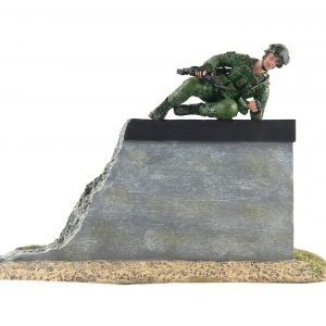 SAF Standard Obstacle Course SOC Low Wall Obstacle Toy Soldier Collectible Figurine (Cover)