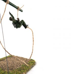SAF Standard Obstacle Course SOC Low Rope Toy Soldier Collectible Figurine (Cover)