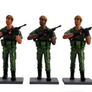 SAF Marching Soldiers Parade Toy Soldier Collectible Figurine (cover)