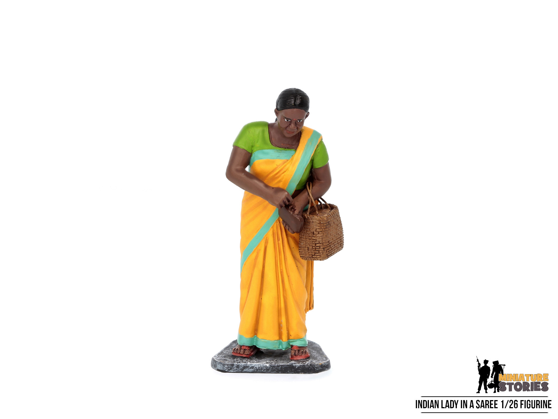 Miniature Stories Indian Lady (Front-2)