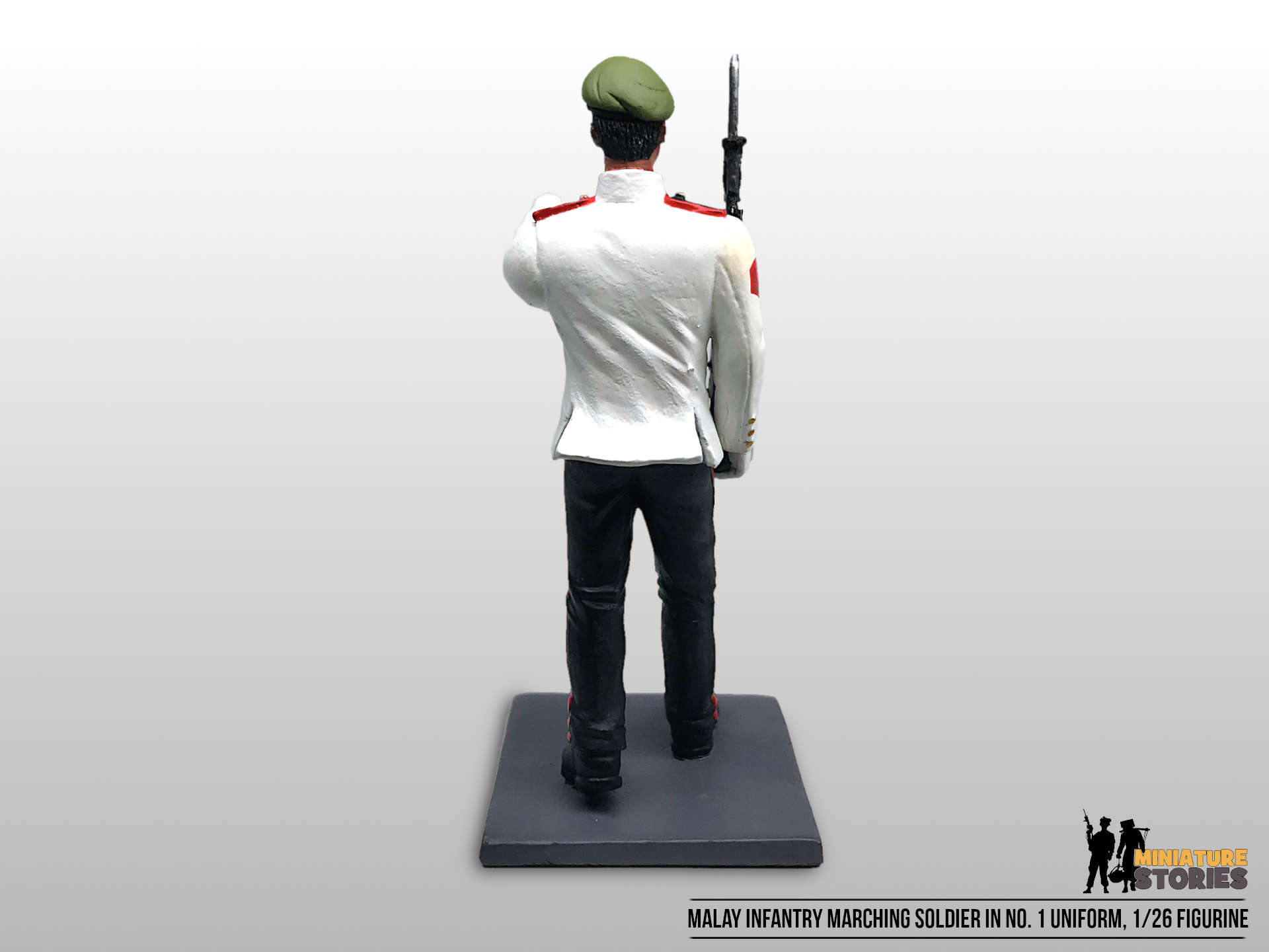 Singapore Army Infantry Soldier Figurine in No. 1 (back)