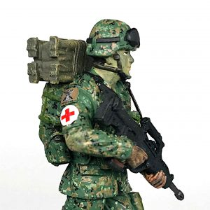 Singapore Army Combat Medic Figurine (cover)
