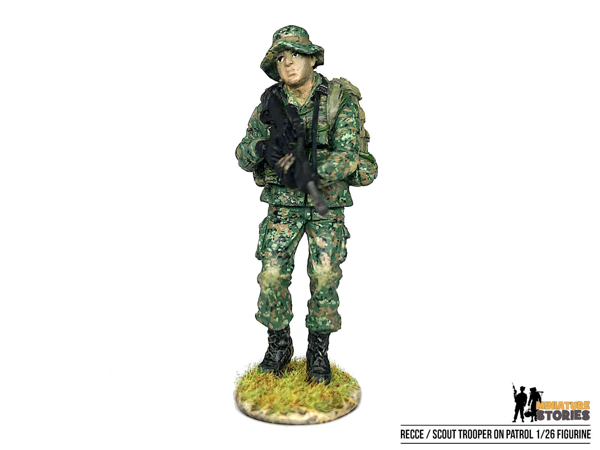 Singapore Army Recce Scout Trooper Figurine (front)