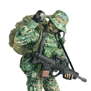 Singapore Army Recce Scout Commander Figurine (cover)