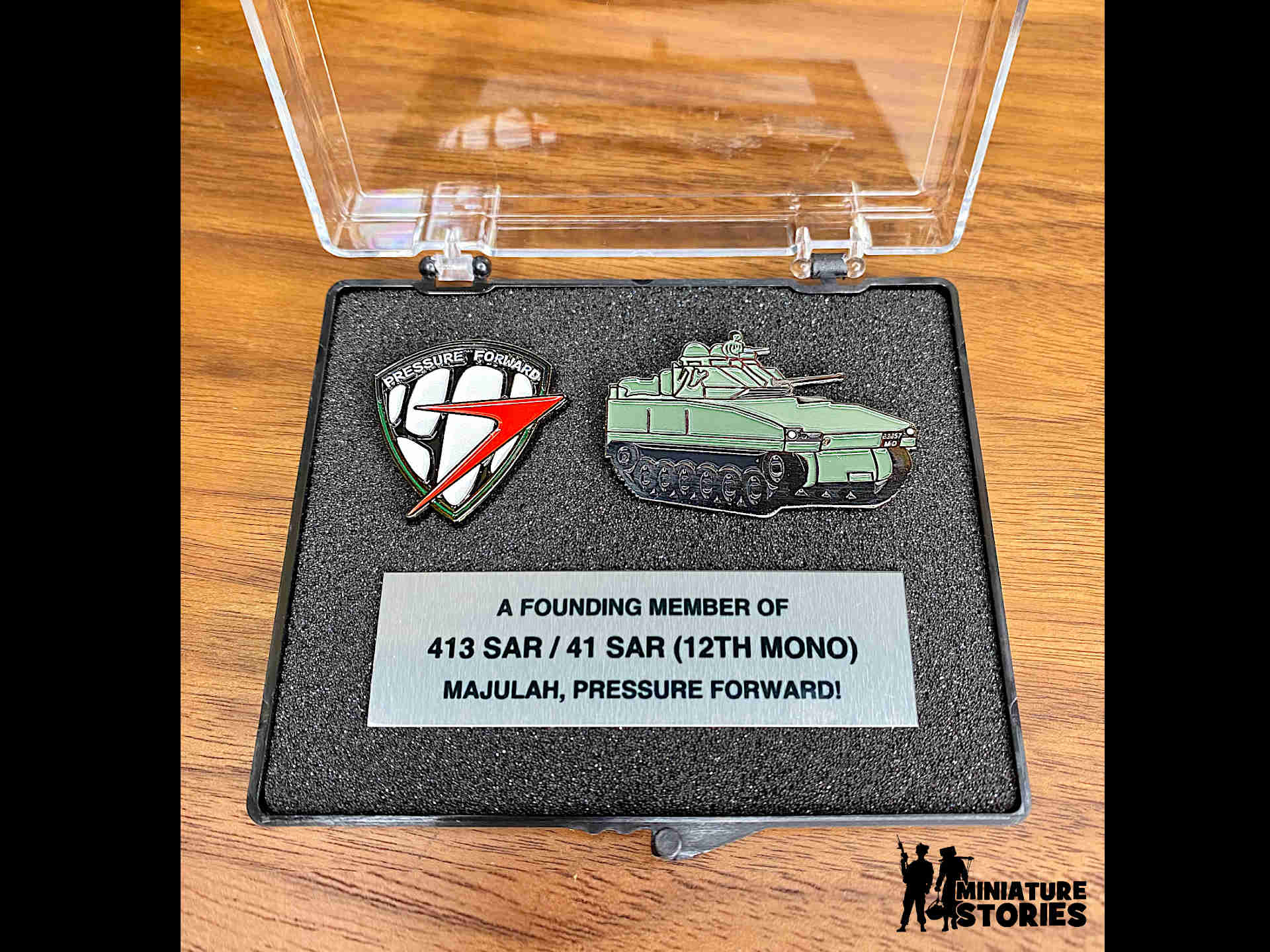 41st Singapore Armoured Regiment (41 SAR) Custom Gift Set - 3