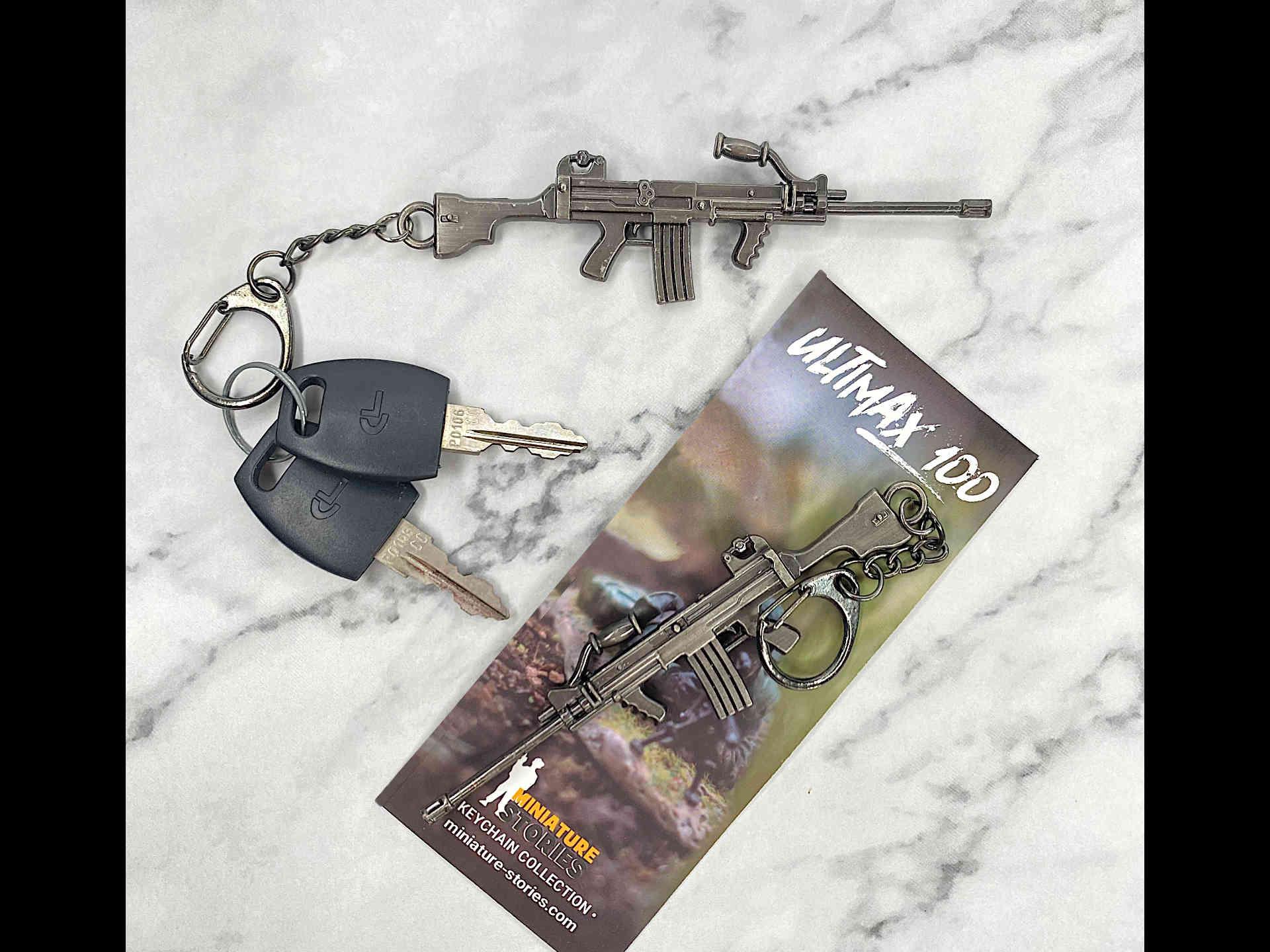 Ultimax 100 SAW Keychain (2)